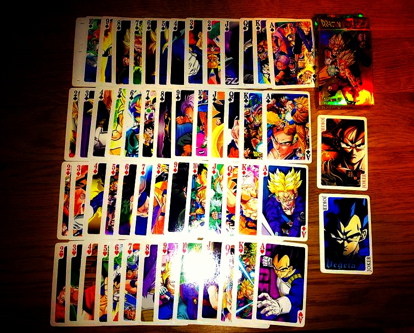 Dragon Ball Z Playing Cards :D By Nial-09 On DeviantArt
