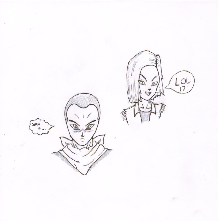 Android 17's new haircut *18 approves* by nial09