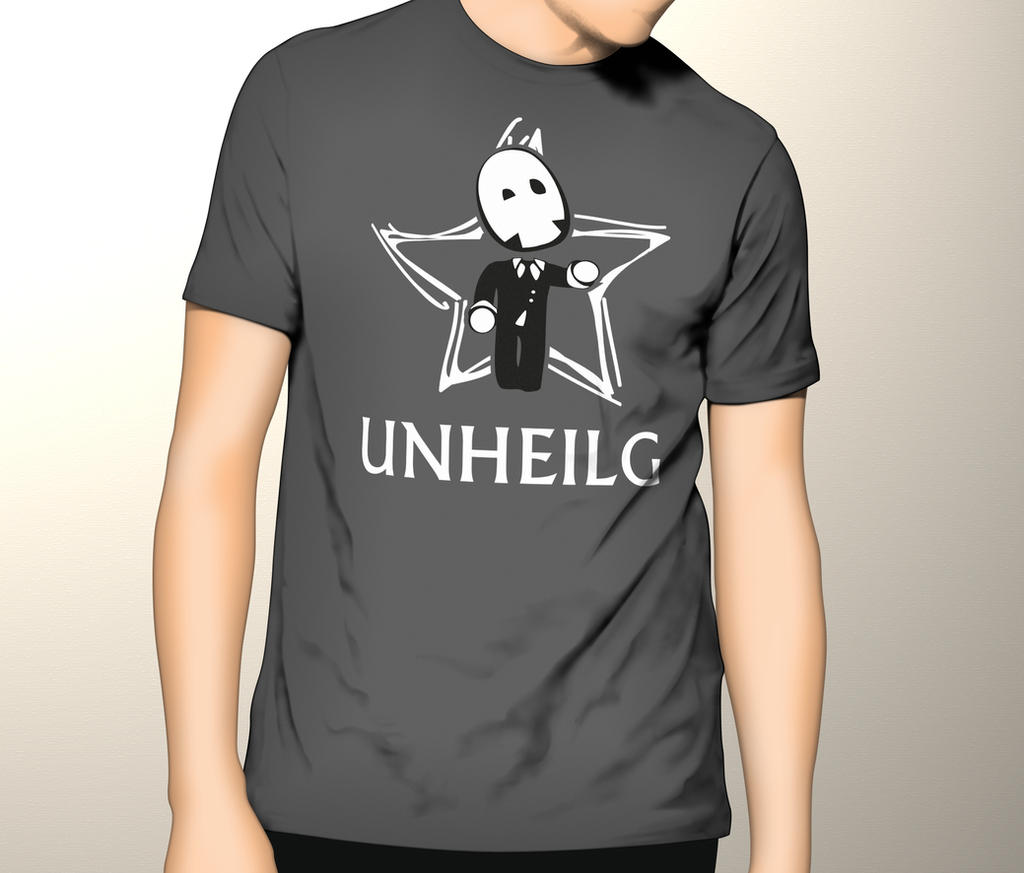 T Shirt Design For The German Band Unheilig By Kam1katze
