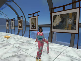 Second Life Art Exhibition by mariasilvia