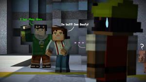 Minecraft Story Mode : Tuff Stuff