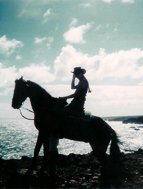 cowgirl silhouett wallpaper - photo #6