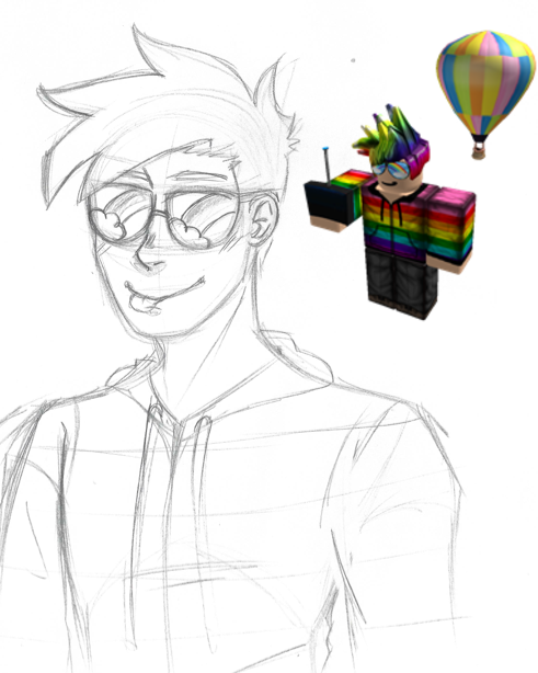 Sketch Roblox Player