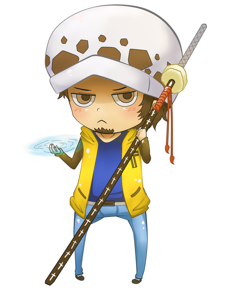 ::chibi:: Trafalgar Law by sayuuchin on DeviantArt