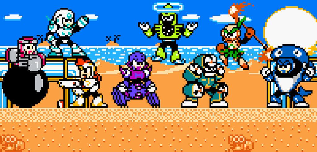 Mega Man Eternal II Robot Masters (in Colour)