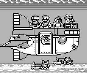 Mega Man Eternal II - _Legendary_ Air Ship (?) by DiscreteComputation