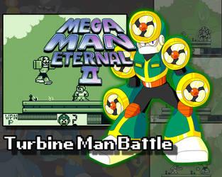 Mega Man Eternal II - Turbine Man Battle (VIDEO) by DiscreteComputation