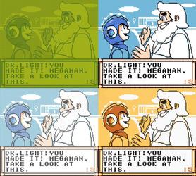 Mega Man Eternal II - Intro Preview (Scene 5)