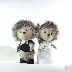 Hedgehogs wedding