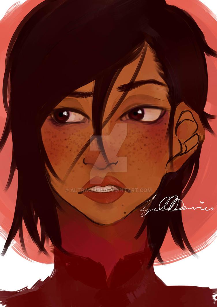 Freckles by altrachibi