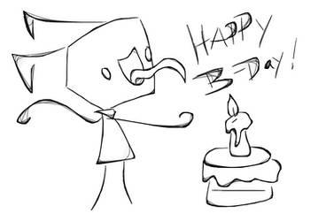 Happy Birthday Richard by Invader-Star-irken