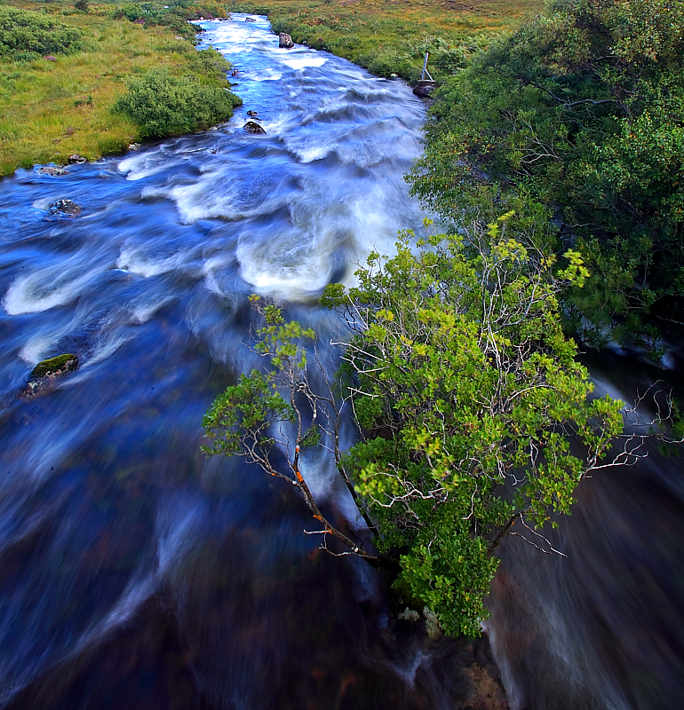 Water Flows in Scotland