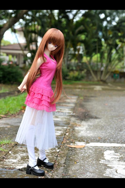 Mashiro in the park by leukemio