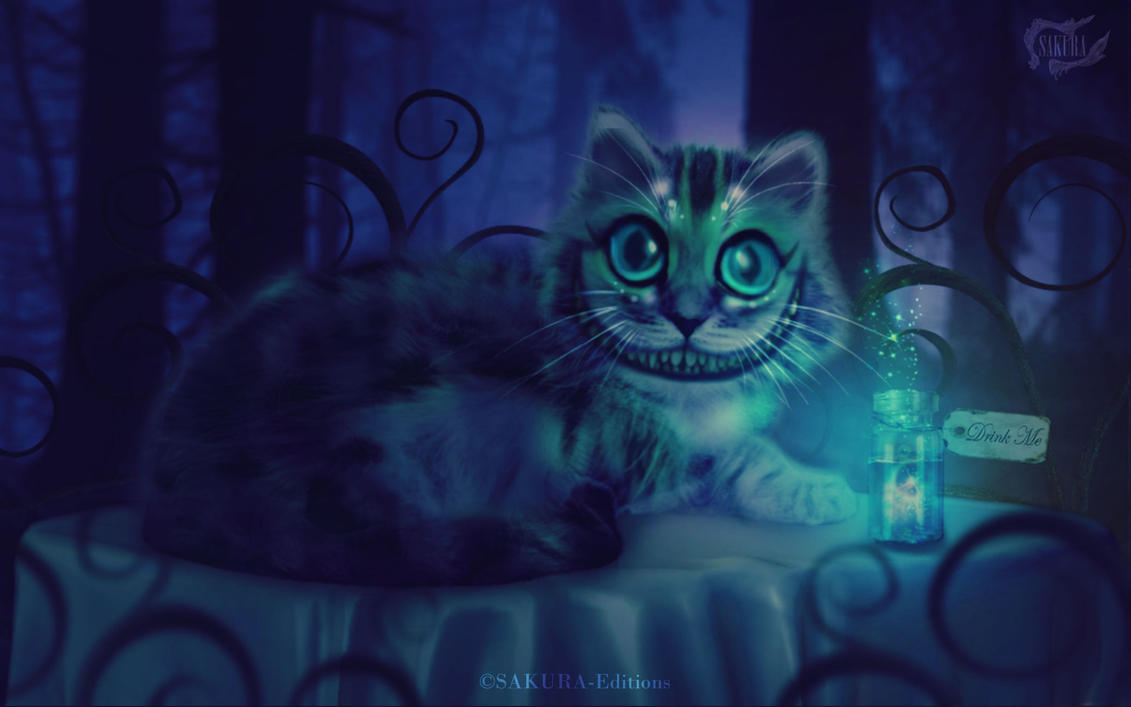 The Cheshire Cat by SAKURA-Editions