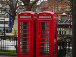 Telephone Booth by Riverd-Stock