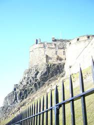 Edinburgh Castle by Riverd-Stock