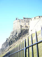 Edinburgh Castle by Riverd-Stock