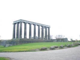 Edinburgh monument by Riverd-Stock