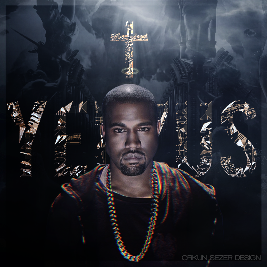 Kanye West - Yeezus Album Cover by OrkunSezerYeezus Real Album Cover