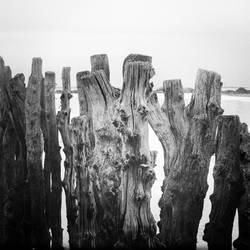 Breakwaters.
