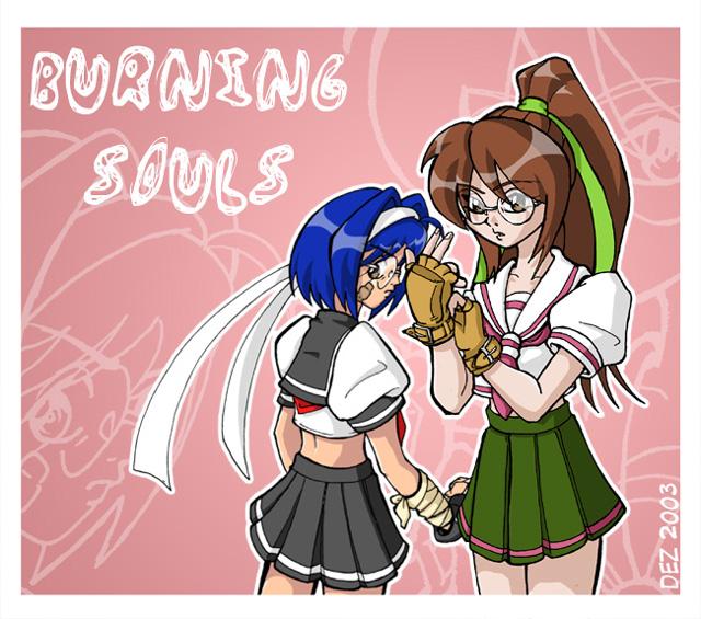 Burning Souls by OmegaDez