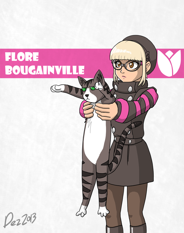 Character bio - Flore by OmegaDez