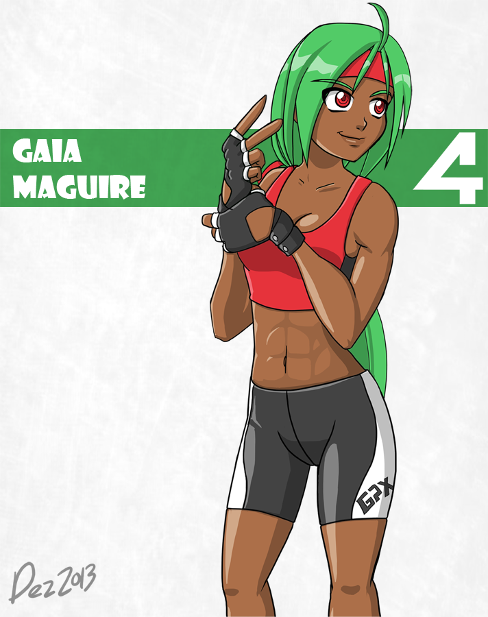 Character bio - Gaia by OmegaDez