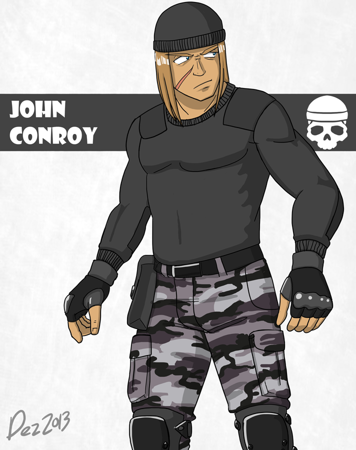 Character bio - Conroy by OmegaDez