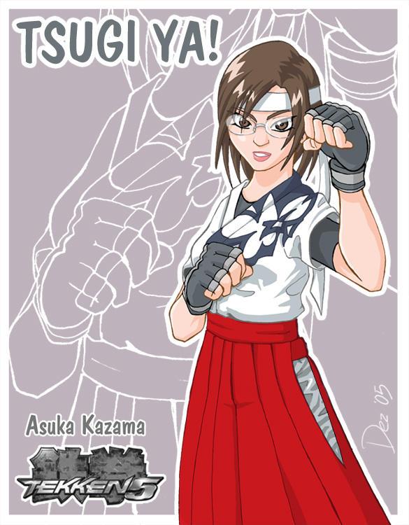 Asuka Kazama - Dez version by OmegaDez