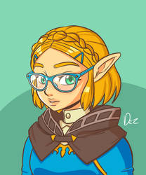 Perfect Zelda by OmegaDez