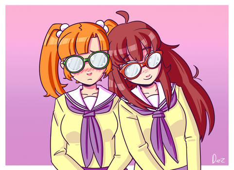 Hina and Mina again
