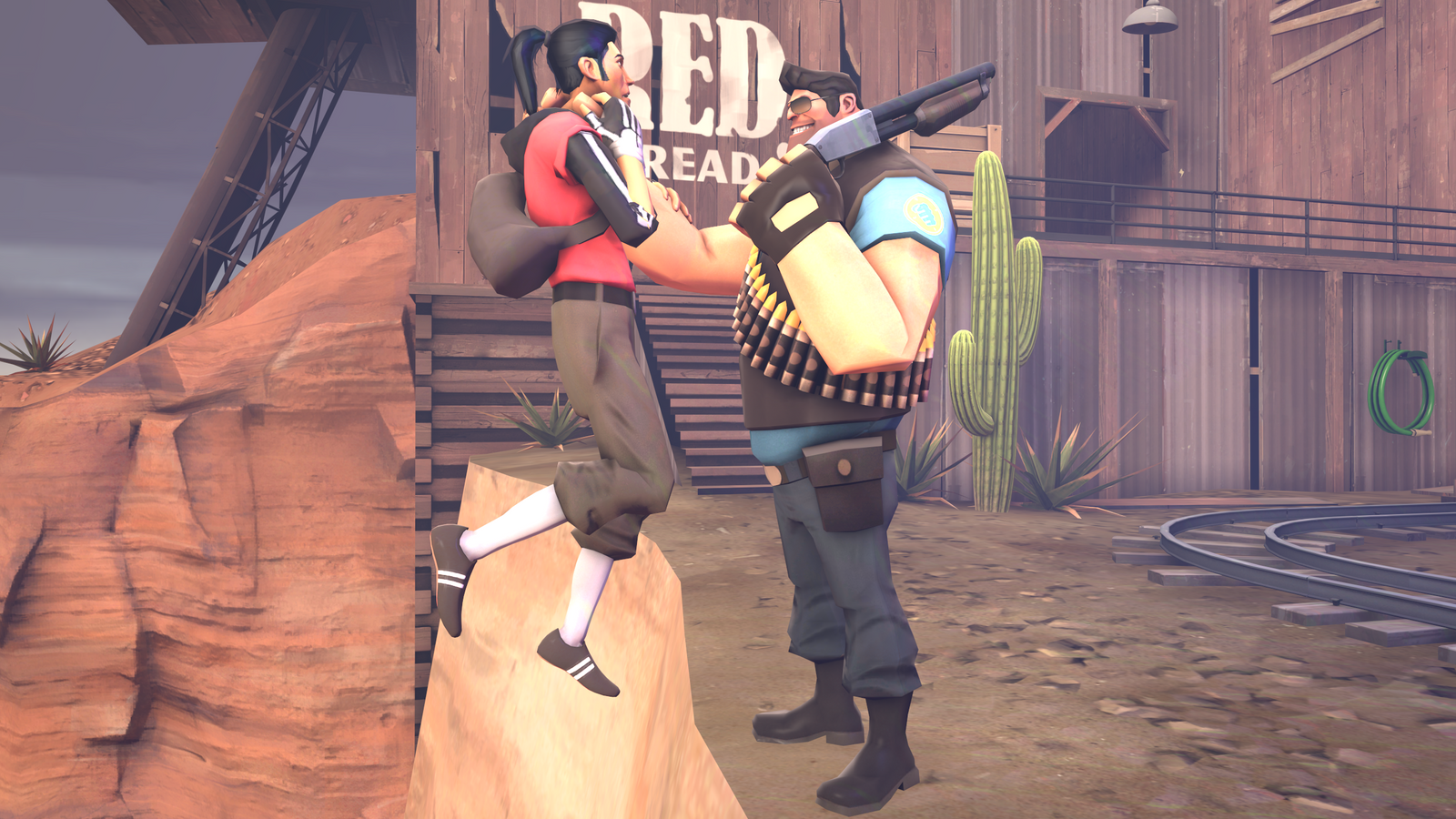 Will anyone Help me now? *TF2 SFM* by Tsuzumikin