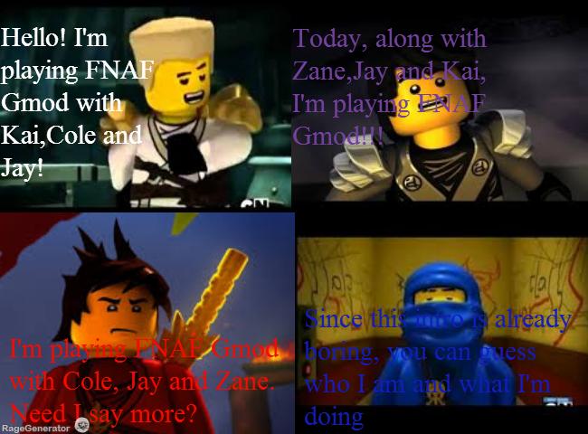 Ninjago let s play fnaf gmod part 1 by ninjago fan on deviantart