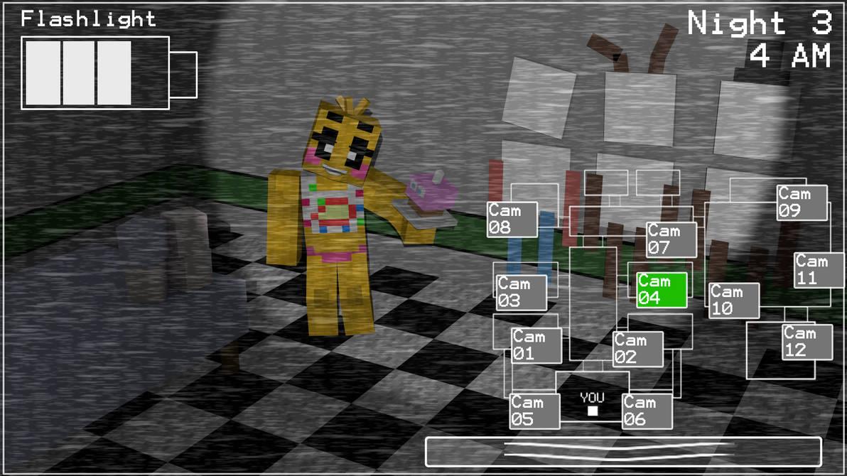 fnaf 2 minecraft