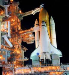 Shuttle Discovery Diorama by Zen00