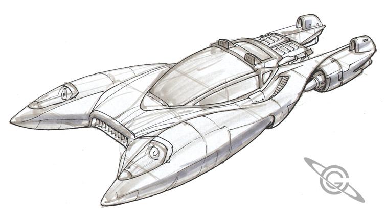 Sky Car Sketch by MeckanicalMind on DeviantArt