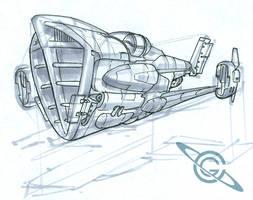 Dust Runner Sketch by MeckanicalMind