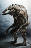 Final Fowl Creature by MeckanicalMind