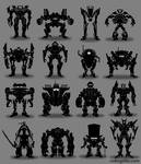 Robot Thumbnails 2