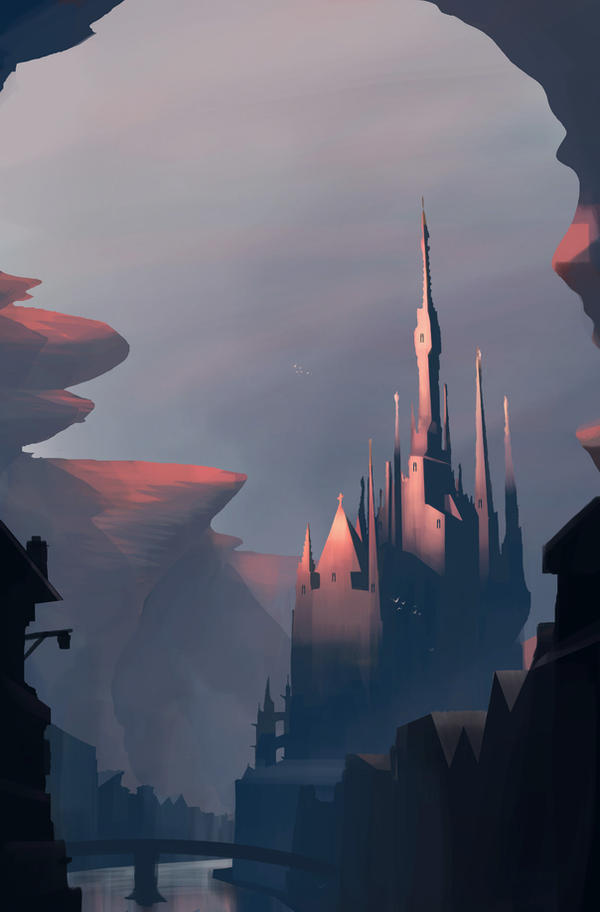Canyon Castle by MeckanicalMind
