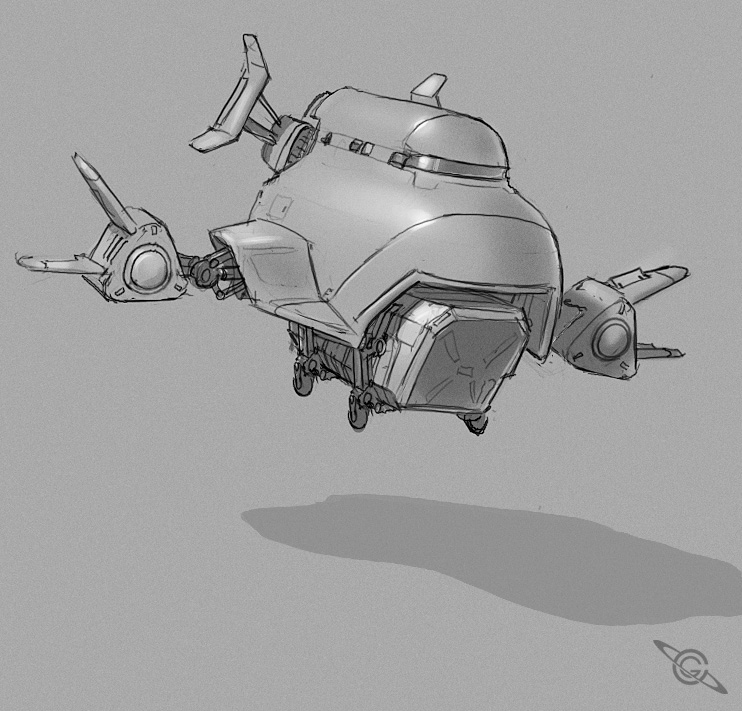 Fat Plane by MeckanicalMind