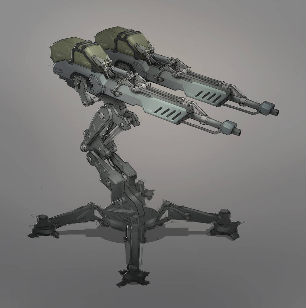 Auto Turret by MeckanicalMind