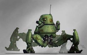 Mole Men Tank by MeckanicalMind
