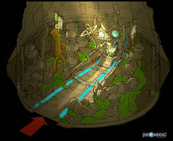 RCF2: Zolar Orvus Room 1 by MeckanicalMind