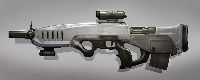 Compact Sniper Rifle