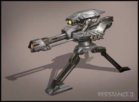 R3 Multiplayer Turret by MeckanicalMind