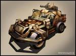 R3 Prison Warden Jeep