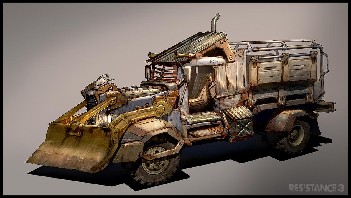 R3 Prison Warden Truck by MeckanicalMind