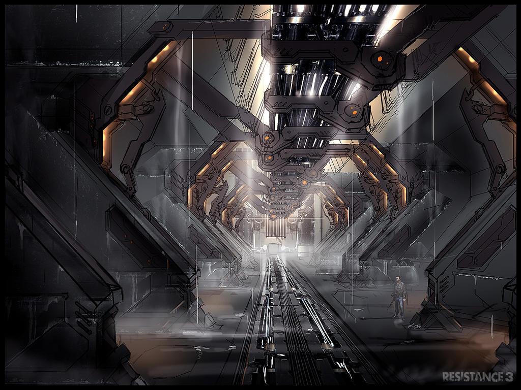 R3 Terraformer First Interior by MeckanicalMind