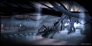 R3 Terraformer Boss Room Concept